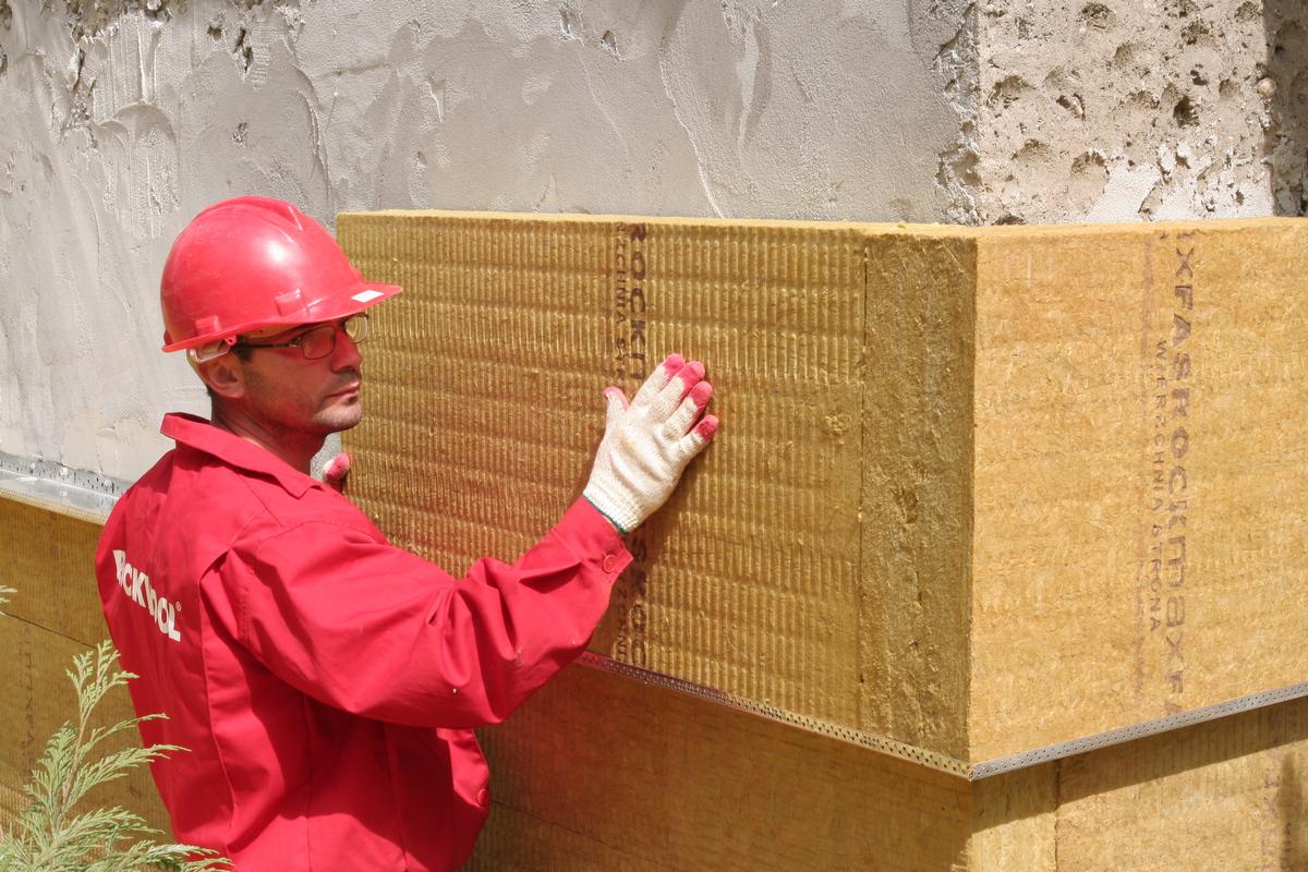 каменный утеплитель для наружных стен