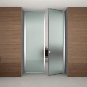 Как выбрать двери распашные стеклянные?