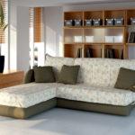 диван с цветами