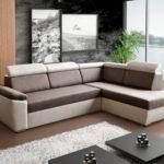 двухцветный диван