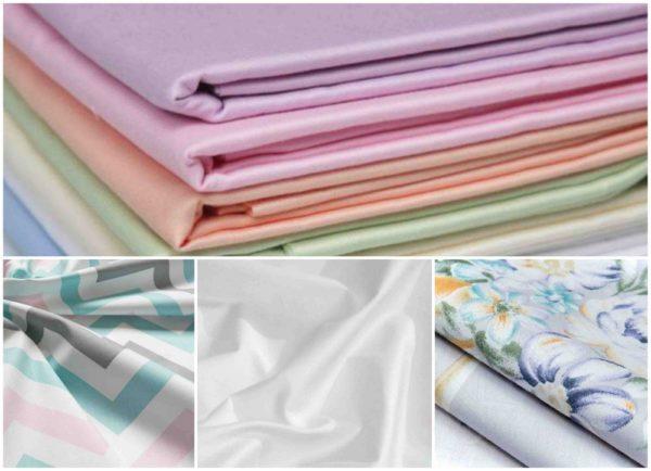 виды ткани сатин