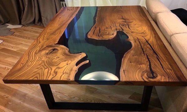 стол из эпоксидной смолы 2