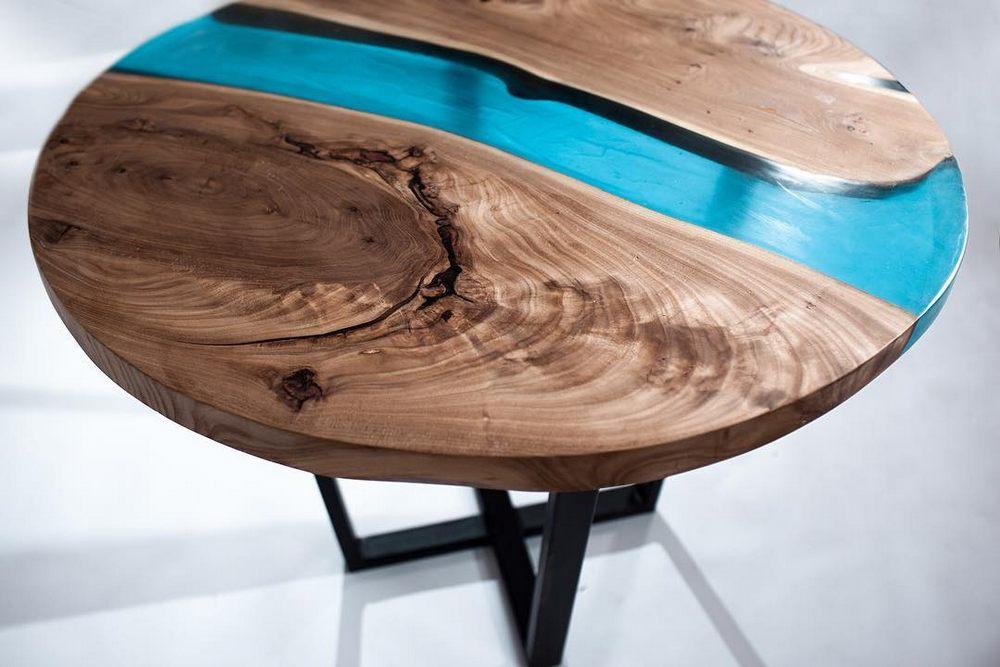 Простой способ как сделать стол из эпоксидной смолы своими руками - справится каждый