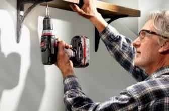 как повесить полку на стену