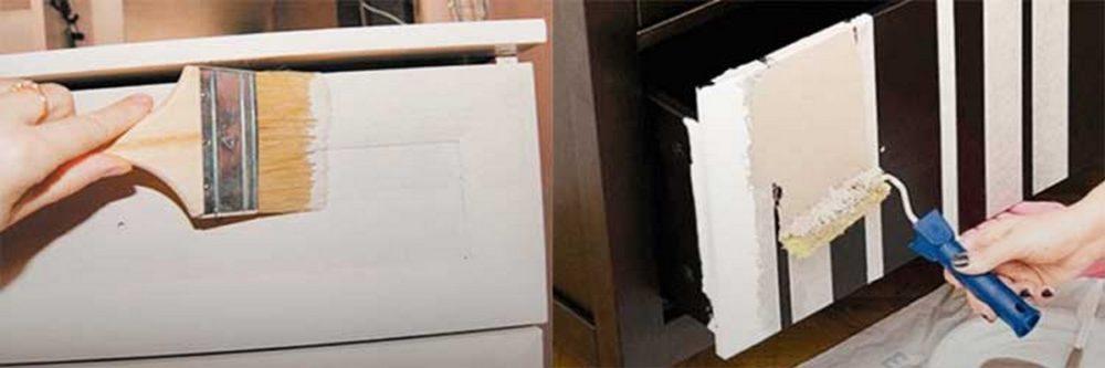 Выбор краски для мебели
