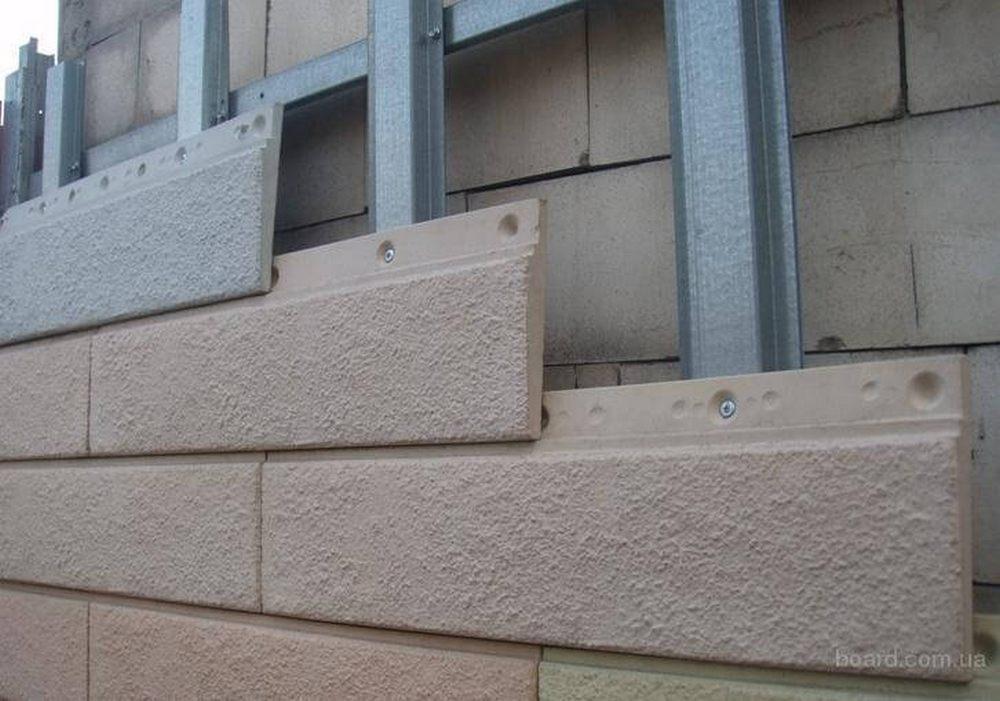 бетонный сайдинг
